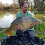 Common Carp Firs Lake France - Two Tone