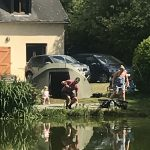 exclusive family carp fishing france with accommodation