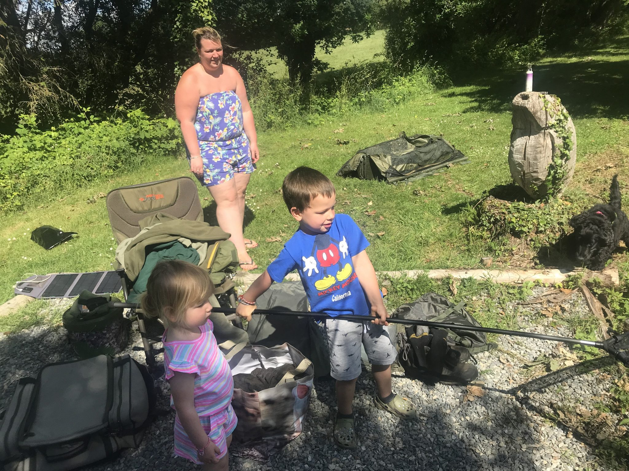 The perfect family fishing holiday in France