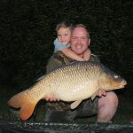 Father and Son Fishing in France