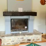 Firs Lake France House Fireplace