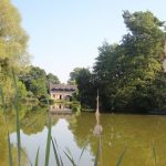 View of the house at Firs lake providing secluded carp fishing in France with accommodation.