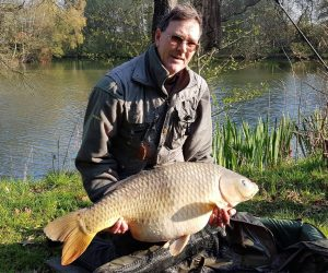 40 pound common carp firs lake france