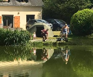 fishing in france lakeside accommodation