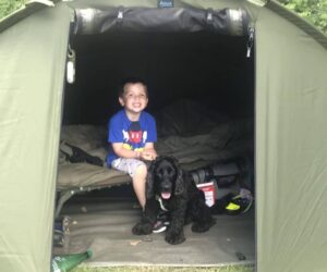 kids dogs best family fishing holiday