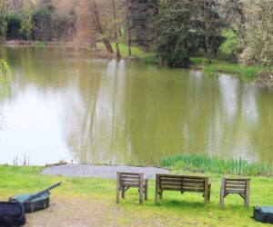 small exclusive carp lake in france